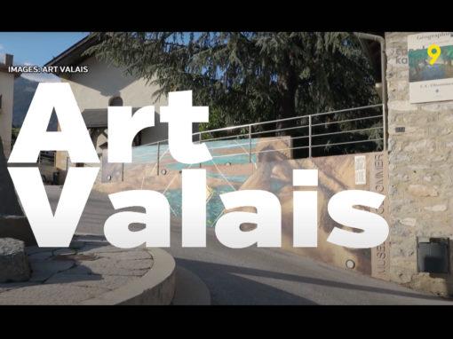Canal 9 – Art Valais – 26 08 2020